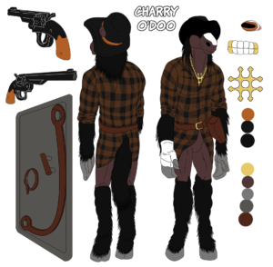 Concept art for Charry O'Doo
