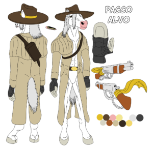 Concept art for Pacco Alvo
