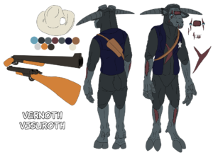 Concept art for Vernoth Visuroth
